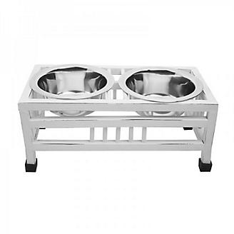 Luxe Craft Antique Wrought Iron Pet Diner