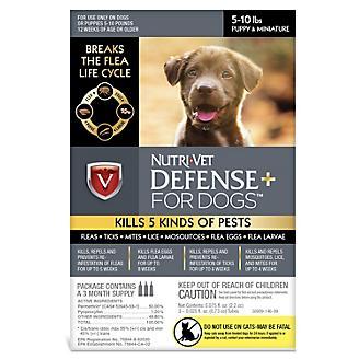 Nutri-Vet K9 Defense Plus Flea/Tick 3mos