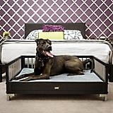 New Age Pet ecoFLEX Espresso Raised Dog Bed