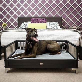 New Age Pet ecoFLEX Espresso Raised Dog Bed