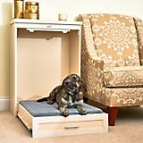 New Age Pet ecoFLEX Antique White Murphy Dog Bed