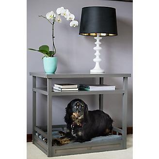 New Age Pet ecoFLEX Grey Dog Bed/Nightstand