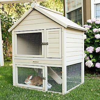 New Age Pet ecoFLEX Huntington Rabbit Hutch