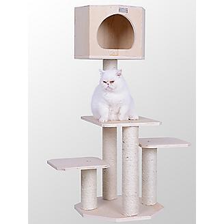 Armarkat 46 inch Premium Solid Wood Cat Tree
