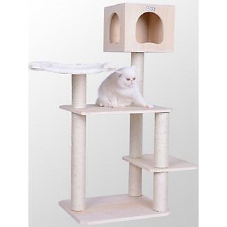 Armarkat 50 inch Premium Solid Wood Cat Tree
