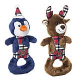 Charming Pet Christmas Polar Pal Dog Toy