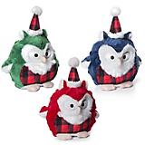 Charming Pet Christmas Hoot Dog Toy