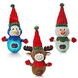 Charming Pet Christmas Snowballs Dog Toy