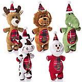 Charming Pet Christmas Snow Bum Dog Toy