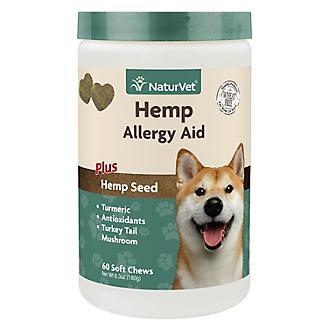NaturVet Hemp Allergy Aid Dog Soft Chew