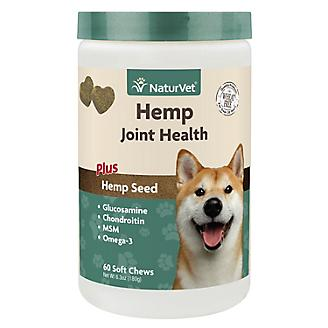 NaturVet Hemp Joint Health Dog Soft Chew