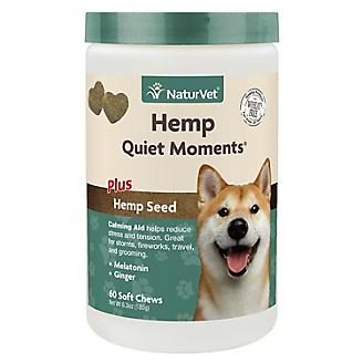 NaturVet Hemp Quiet Moments Dog Soft Chew