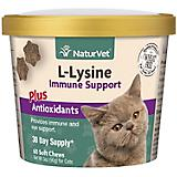 NaturVet L Lysine Immune Cat Soft Chew 60ct