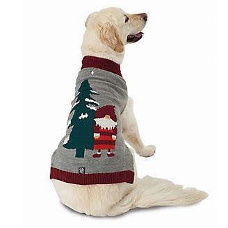 Petrageous Claus Santa Gnome Dog Sweater