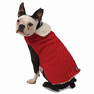 Petrageous Carles Cable Dog Sweater