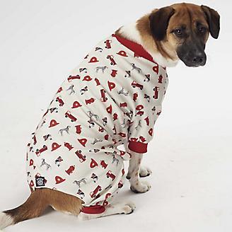 Petrageous Firetruck Dog Pajamas