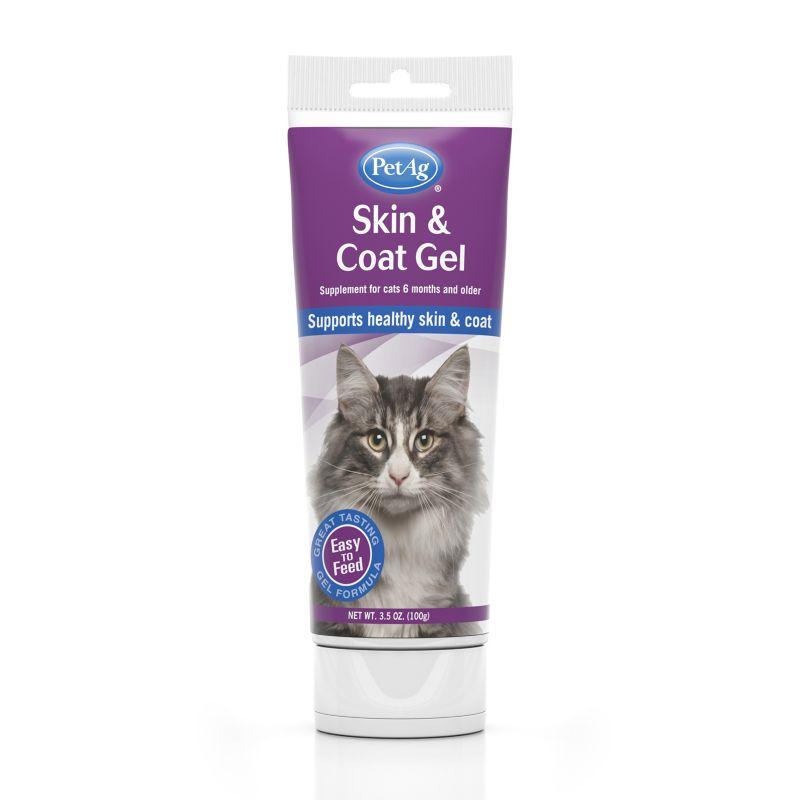 PetAg Skin and Coat Cat Gel Supplement 3.5oz