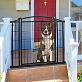 Carlson Pet Outdoor Walk-Thru Pet Gate