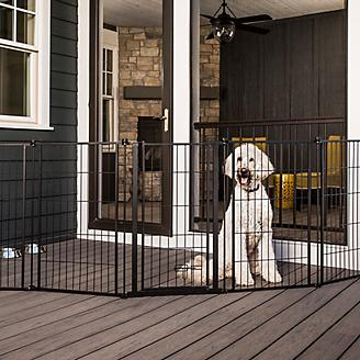 Carlson Pet Outdoor Extra-Tall Super Pet Gate