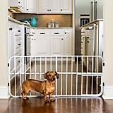 Carlson Pet Lil Tuffy Expandable Gate w/ Pet Door