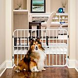Carlson Pet Tuffy Expandable Gate w/Pet Door