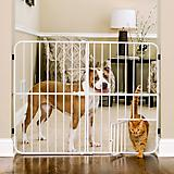Carlson Pet Big Tuffy Expandable Gate w/ Pet Door