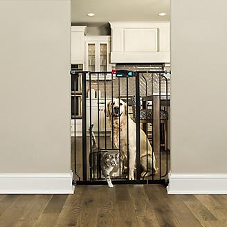 Carlson Pet Black Extra Tall Gate w/Pet Door