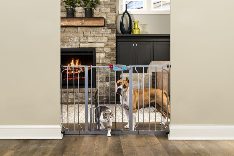 Carlson Pet Platinum Extra Wide Gate w/Pet Door -  CARLSON PET PRODUCTS,INC., 0932 PP DS