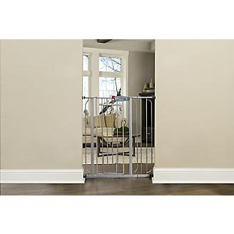Carlson Pet Platinum Extra Tall Gate w/Pet Door