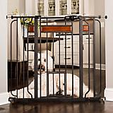Carlson Pet Design Paw Extra tall Gate w/ Pet Door