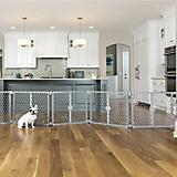 Carlson Pet 2-in-1 Plastic Gate and Pet Pen