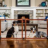 Carlson Pet Freestanding Extra Tall Wood Pet Gate