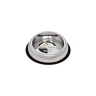NonSkid Easy Feed High Back Pet Bowl 2 Pk