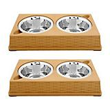 Color Splash Designer Rattan Diner 2 Pack