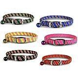 Pattern Stretch Cat Collar