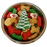 Claudias Large Christmas Bowl Dog Treat