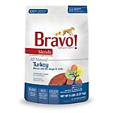 Bravo Blends Turkey Frozen Patty Dog Food 5lb