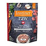 Instinct Beef Frozen Raw Bites Dog Food