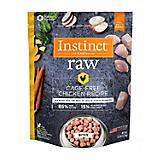 Instinct Chicken Frozen Raw Bites Dog Food