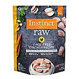 Instinct Chicken Frozen Medallions Dog Food 3lb