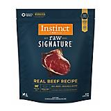 Instinct Signature Beef Frozen Medallions Dog Food