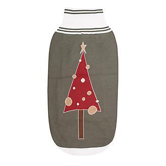 Halo Christmas Tree Dog Sweater