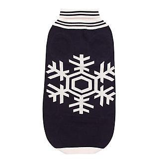 Halo Snowflake Dog Sweater