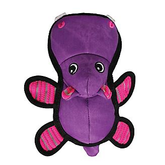 KONG Roughskinz Hippo Dog Toy