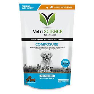 VetriScience Composure Peanut Butter Dog Chew