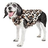 Pet Life Luxe LabPard Mink Fur Dog Coat