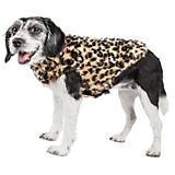 Pet Life Luxe Poocheetah Mink Fur Dog Coat