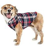 Pet Life Puddler Plaid Dog Coat