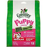 Greenies Puppy Dental Chew Treat Regular 12oz
