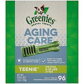 Greenies Aging Care Dental Chew Treat Teenie 27oz